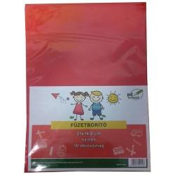 Füzetborító pd A/5 színes PP 10db/csomag