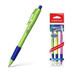 Golyóstoll ErichKrause Joy Neon kék 3 db-os klt. Ultra Glide Technology