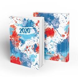 Határidőnapló pd A/5 napi Art of Colors - Ocean 2020