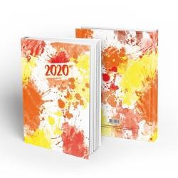 Határidőnapló pd A/5 napi Art of Colors - Sun 2020