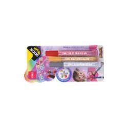 Kreatív ragasztó glitter 3 (szín) x 12ml / Classic