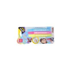 Kreatív ragasztó glitter 3 (szín) x 12ml / Neon