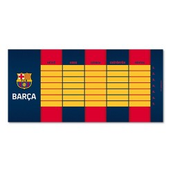 Órarend Ars Una egylapos FcBarcelona (884) 19