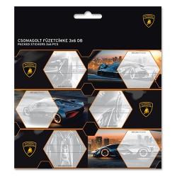 Füzetcímke Ars Una 3 x 6 db/csomag Lamborghini (885) 19