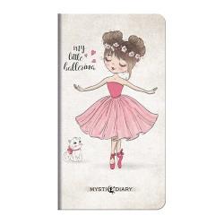 Zsebnaptár Mystic heti álló 09 My little balerina
