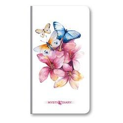Zsebnaptár Mystic heti álló 11 Blue butterfly