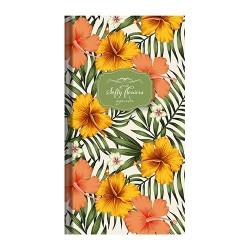 Zsebnaptár Softy flowers heti álló Orange dream