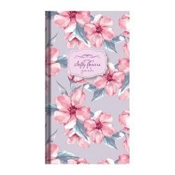 Zsebnaptár Softy flowers heti álló Pink flower 09