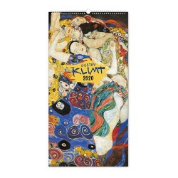 Naptár fali Realsystem 6095 álló 33x48 cm Gustav Klimt