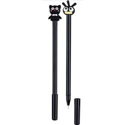 Zselés toll Centrum Fancy macska és csibe 0,5 mm kék