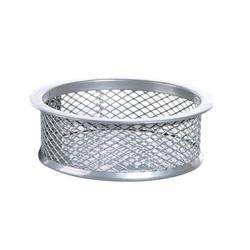 Gémkapocstartó fémhálós Fornax ezüst