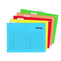 Függőmappa Fornax 33-V sárga