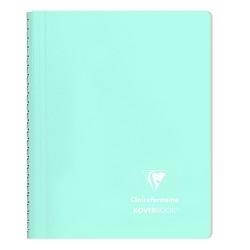 Spirálfüzet Clairefontaine Koverbook Blush A/5 80 lapos PP borítású vonalas menta
