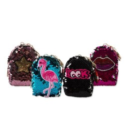 Kulcstartó Junior Mini hátizsák pikkelymintás