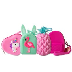 Kulcstartó Junior szilikon Fancy mini táska
