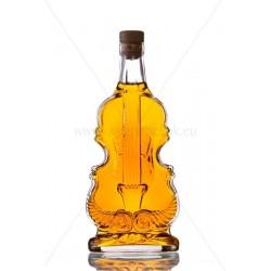 Hegedű 0,5l csatos díszüveg palack