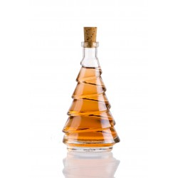Fenyő ovál 0,1l üveg palack