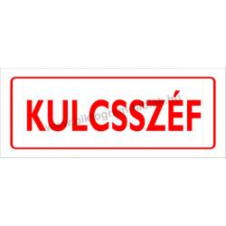 Kulcsszéf piktogram tábla