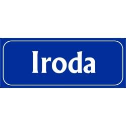 Iroda 25x10 cm