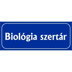 Biológia szertár 25x10 cm