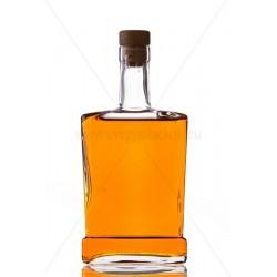 King piatta 0,5 literes üveg palack