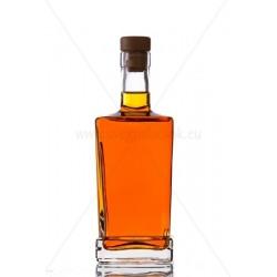 King quadra 0,5 literes üveg palack