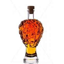 Szőlő 0,5 literes díszüveg palack