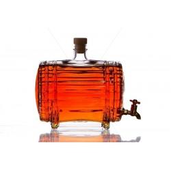 Hordó 1,5l csapos üveg palack
