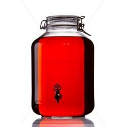 Fidó 5 literes csapos üveg palack