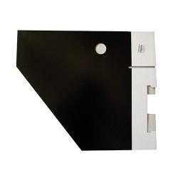 Iratpapucs karton összehajtható pd A/4 10 cm gerinccel karton fekete