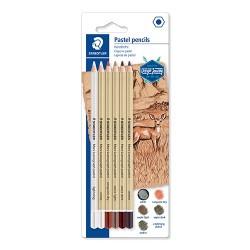 Művészeti pasztell ceruza Staedtler Design Journey Lumograph 6 db-os klt.