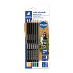 Művészeti jelölő ceruza Staedtler Design Journey színes 6 db-os bliszteres