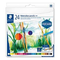 Művészeti színes ceruza Staedtler Design Journey akvarell 24 db-os klt.