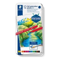 Művészeti színes ceruza Staedtler Design Journey tömör akvarell 12 db-os klt.