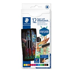 Művészeti színes ceruza Staedtler Design Journey Super Soft 12 db-os klt.