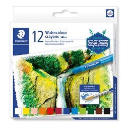 Művészeti zsírkréta Staedtler Design Journey akvarell 12 db-os klt.