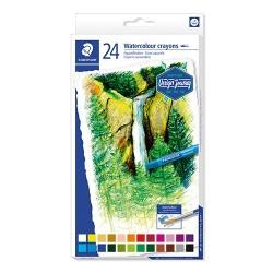 Művészeti zsírkréta Staedtler Design Journey akvarell 24 db-os klt.