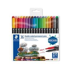 Művészeti marker Staedtler Design Journey permanent 36 db-os bliszteres