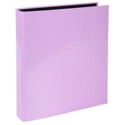 Gyűrűs könyv Exacompta Aquarel A/4 2 gyűrűs 40 mm gerinccel lila