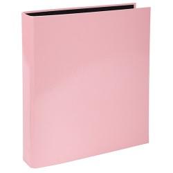 Gyűrűs könyv Exacompta Aquarel A/4 2 gyűrűs 40 mm gerinccel rózsaszín