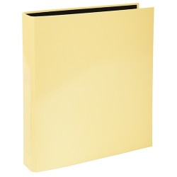 Gyűrűs könyv Exacompta Aquarel A/4 2 gyűrűs 40 mm gerinccel sárga