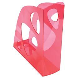 Iratpapucs műanyag Exacompta Ecomag A/4+ áttetsző piros