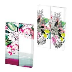 Napló Clairefontaine Blooming 11x15,5 cm 80 lapos, sima, keményfedeles, mágneses záródás, vegyes