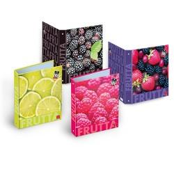 Gyűrűs könyv Pigna Fruits A/4 4 gyűrűs 40 mm gerinccel