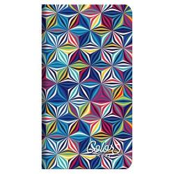Zsebnaptár Color Flexi heti álló Geometric