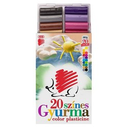 Gyurma Ico Süni színes 20 színű 400 g