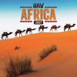 Naptár fali Realsystem 6097 lemez 30x30 cm Wild Africa
