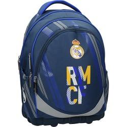 Hátitáska Real Madrid 1 ergonomikus kék/sárga