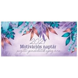 Naptár asztali pd Motivációs 2021
