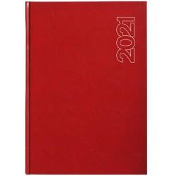 Határidőnapló Standard A/5 napi piros